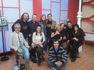 La Tarde con Cristina y el cómico heavy - David César