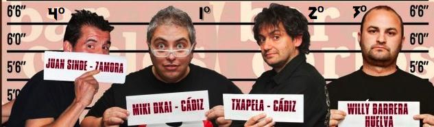 Finalistas del Concurso de Monólogos de Béjar 2012