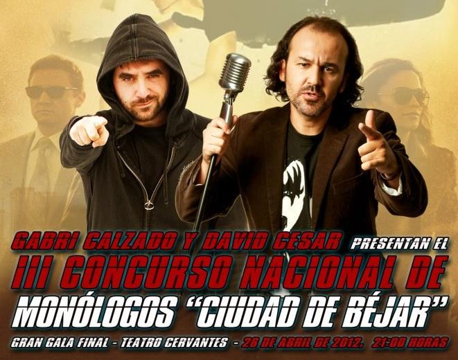 Final del Concurso de Monólogos Nacional Ciudad de Béjar 2012